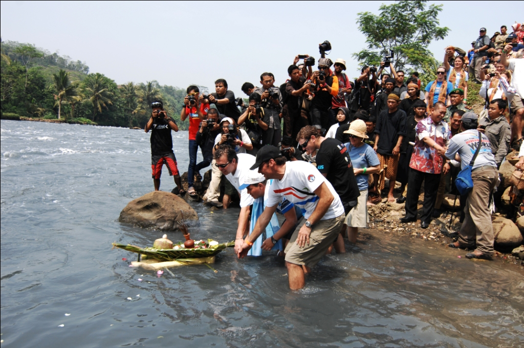 First: The World River Surfing Championship In Citarum